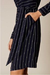 Karen Millen stripe shirt dress